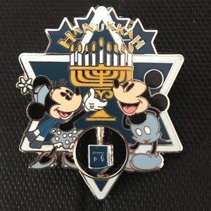 Disney Mickey & Minnie Hanukkah Pin